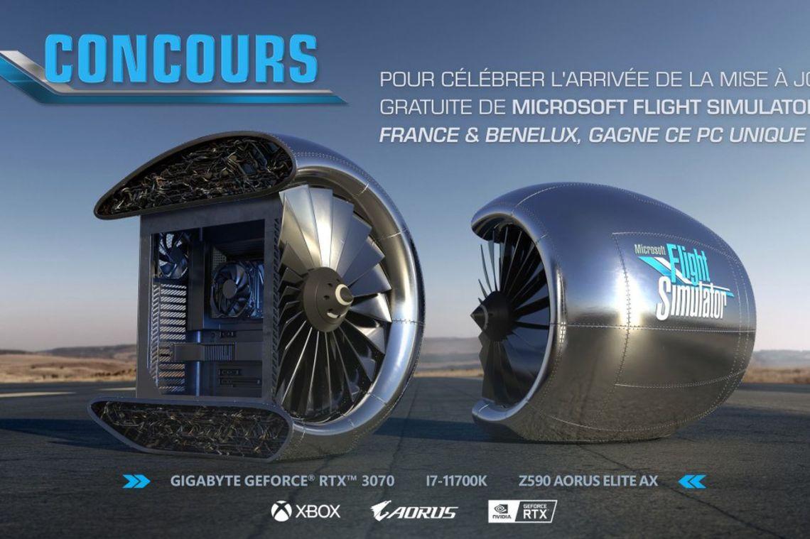 Microsoft is giving away a custom Flight Simulator PC that won't play Flight Simulator at max settings