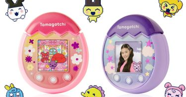 The Tamagotchi Pix has a built-in camera for taking pictures with your pet