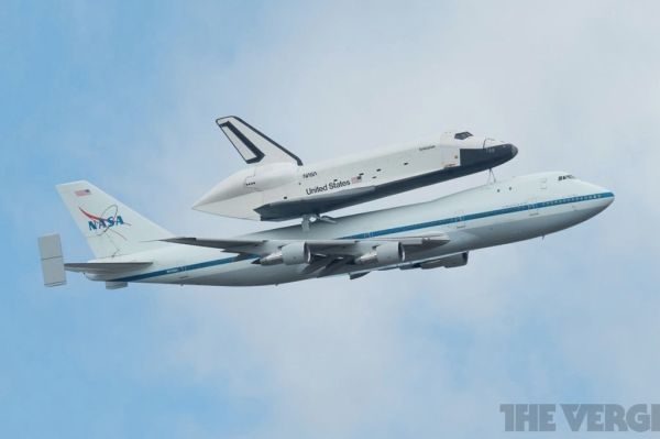 NASA Space Shuttle Enterprise: the NYC fly-by in pictures ...