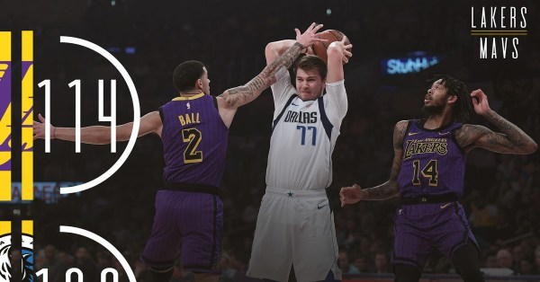 Lakers vs. Mavericks Final Score: L.A.'s defense looks ...
