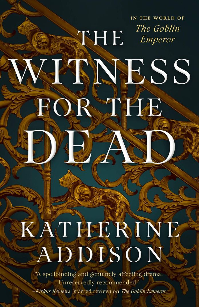 The Witness for the Dead book cover