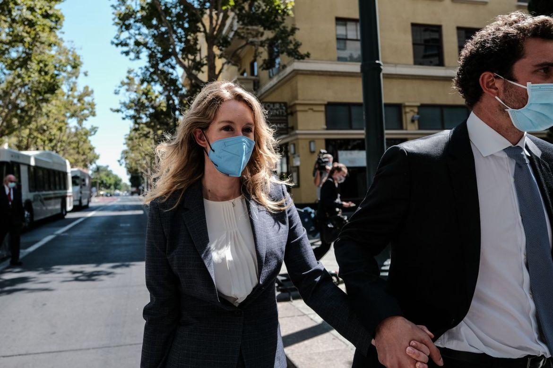 Theranos Founder Elizabeth Holmes Attends Criminal Trial