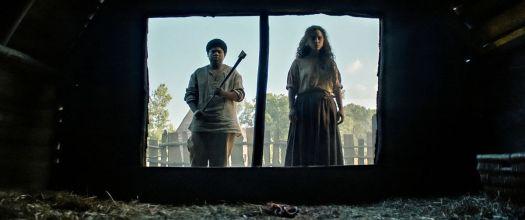 BENJAMIN FLORES JR. as HENRY and KIANA MADEIRA as SARAH FIER in FEAR STREET PART 3: 1666