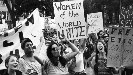 Women's liberation movement in Washington, DC, August 26, 1970.
