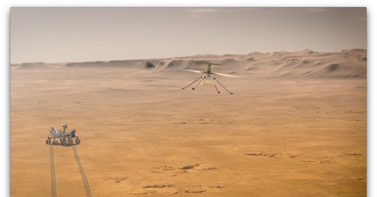 NASA reschedules Ingenuity helicopter's first flight on Mars for Monday