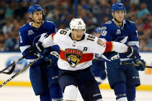 Alex Volkov scores twice as Tampa Bay Lightning fall to ...