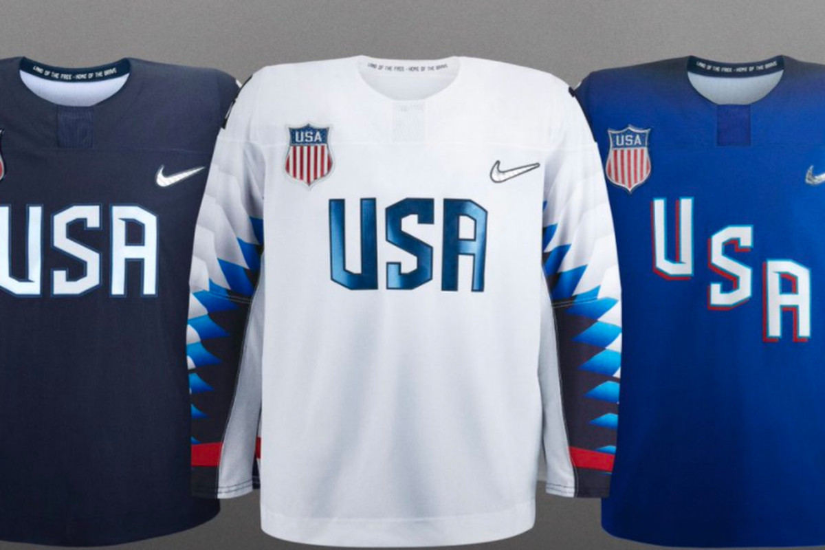 The Team Usa And Team Canada Winter Olympics Jerseys