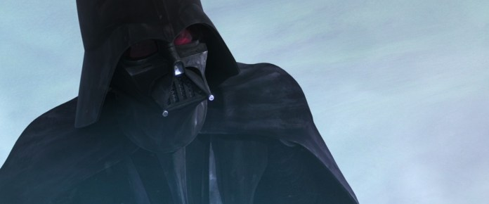 Vader in the final episode of The Clone Wars