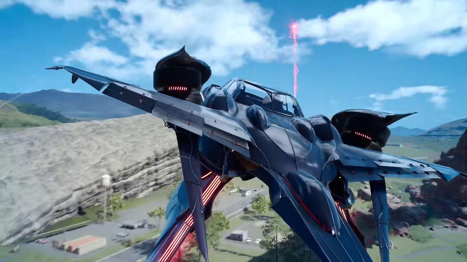 How Do You Unlock Final Fantasy 15s Flying Car The Regalia Type F Polygon