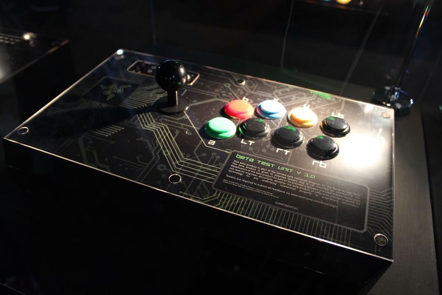 Razer Arcade Stick Hands On A Better Joystick Even In