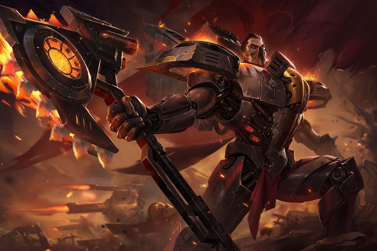 The New Dreadnova Darius Skin Is A Spicy Space Dream The