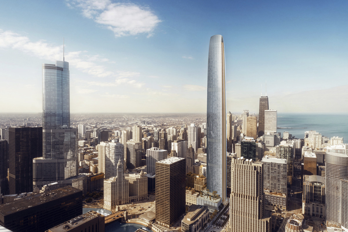 Chicago's Second Tallest Building: Tribune Tower Addition