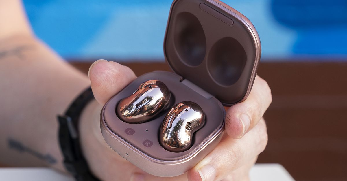 Samsung may have just spilled the beans on how its next earbuds won't be beans