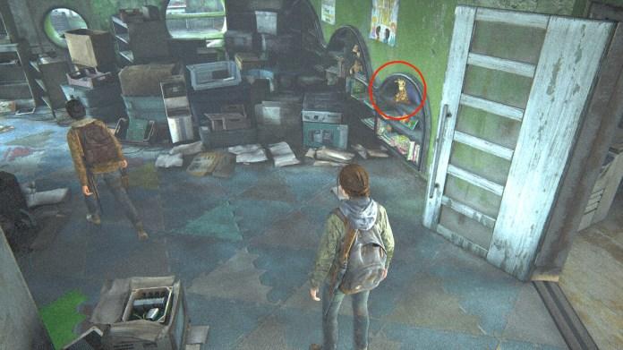 The Last of Us Part 2 Jackson Patrulla jirafa falsa