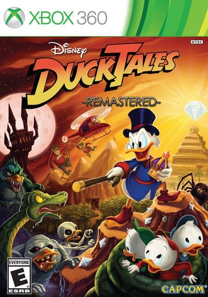 DuckTales Remastered Coming To PS3 360 Wii U Retail Disc