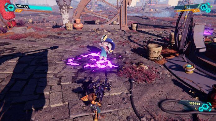 Fizzie in Ratchet & Clank: Rift Apart