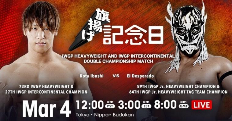 49th Anniversary results: Despy vs. Ibushi