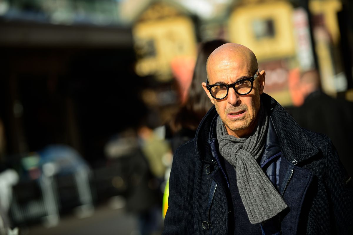 Buy taste by stanley tucci from waterstones today! Stanley Tucci's bookshelf is too messy, says celebrity ...