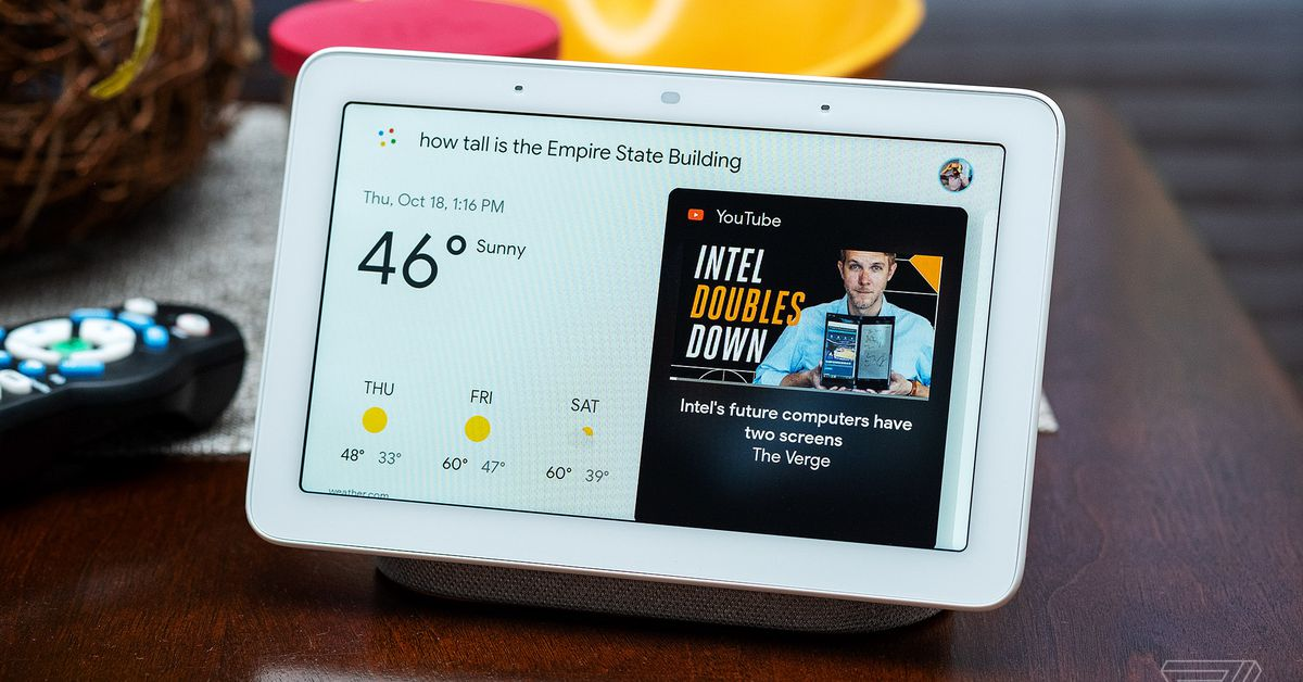 Google's new Fuchsia OS arrives first on old Nest Hub