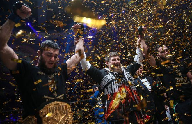 Grand Prix Akhmat WFCA 31 international tournament in Grozny, Chechnya