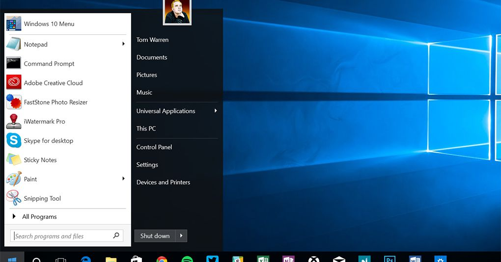 Start10 brings the old Windows 7 Start menu back to Windows 10 - The Verge