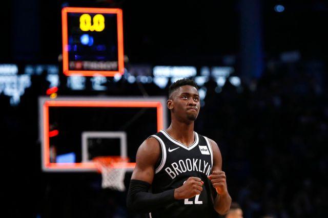 NBA: New York Knicks at Brooklyn Nets