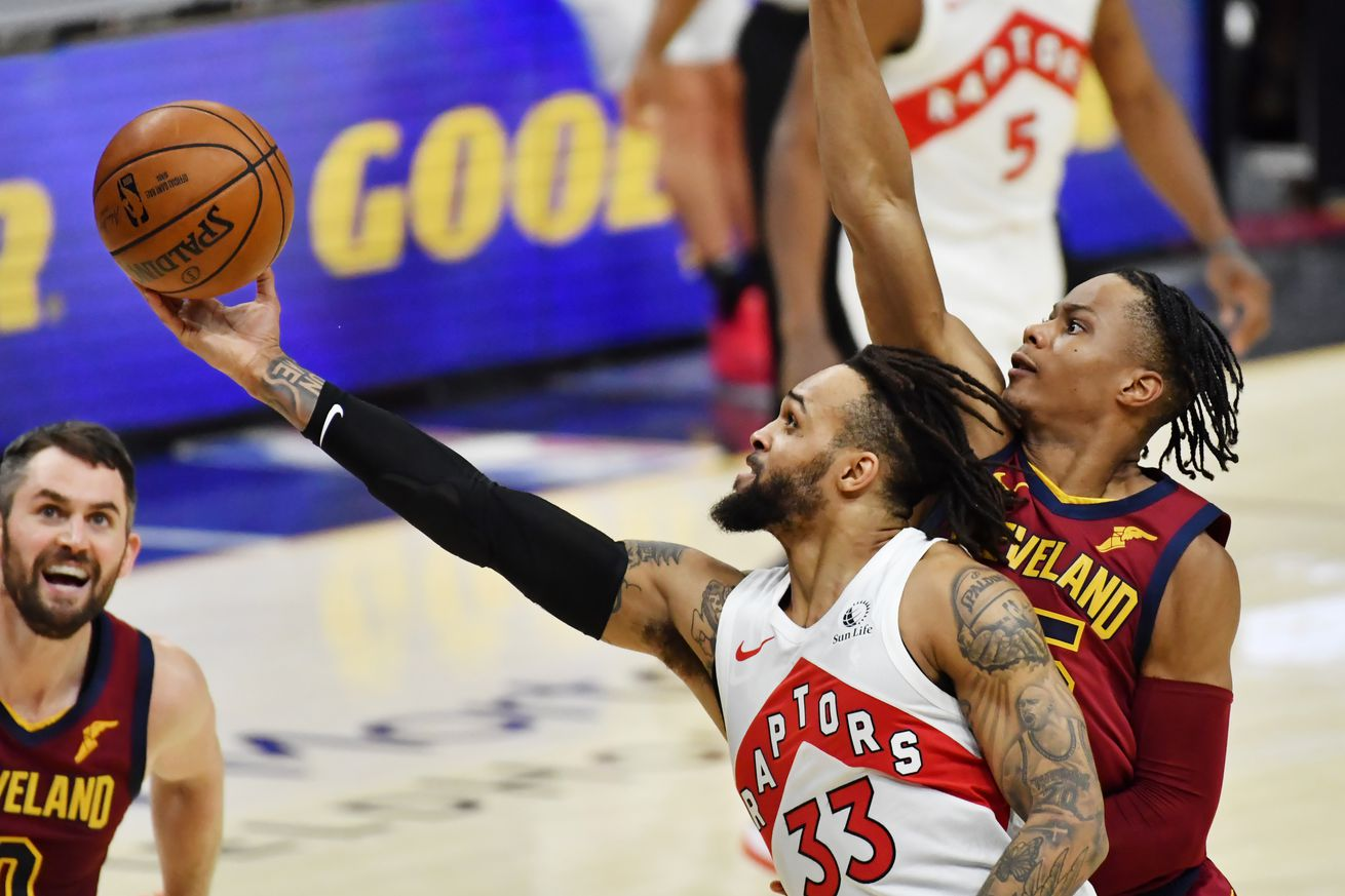 NBA: Toronto Raptors at Cleveland Cavaliers
