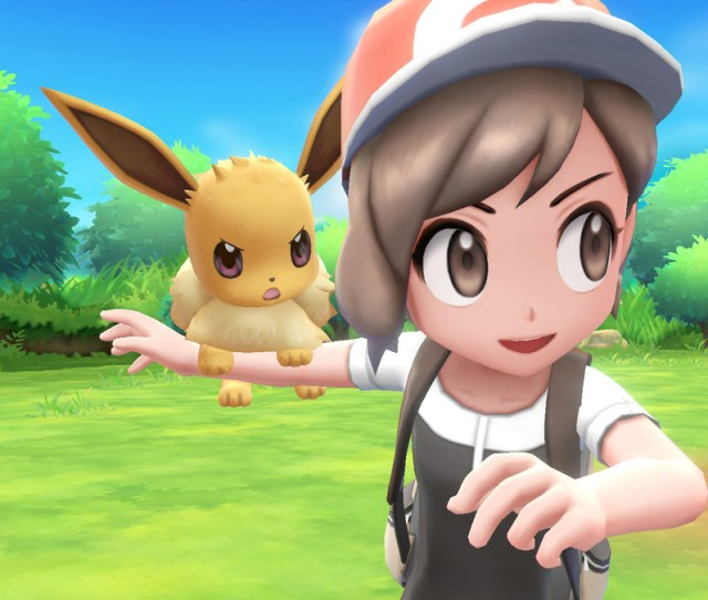Pokemon Lets Go Everything We Know