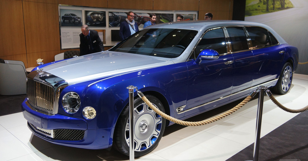 The Bentley Mulsanne Grand Limousine Is Opulence On An Astonishing Scale The Verge