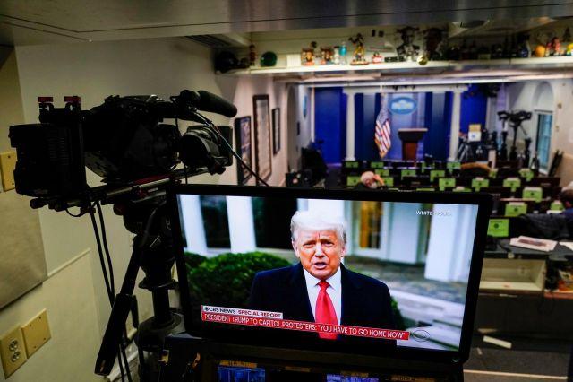 President Trump Addresses Protesters In D.C. Via Video Statement