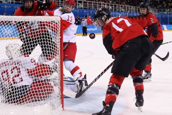 OLYMPIC GAME DAY: Women's Semifinal: Canada vs O.A.R ...