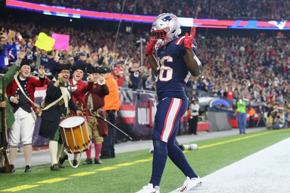 Image result for sony michel chiefs