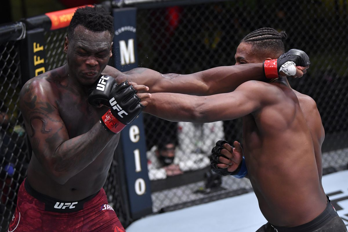 UFC Vegas 16 video: Jamahal Hill stops Ovince Saint Preux with barrage of  punches in co-main event - MMA Fighting