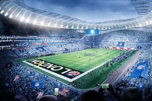 NFL has given Tottenham £10m for stadium construction ...