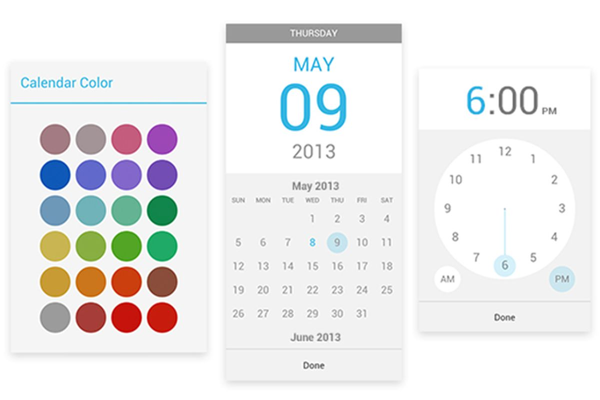 Calendar For Android Updated With New Appointment
