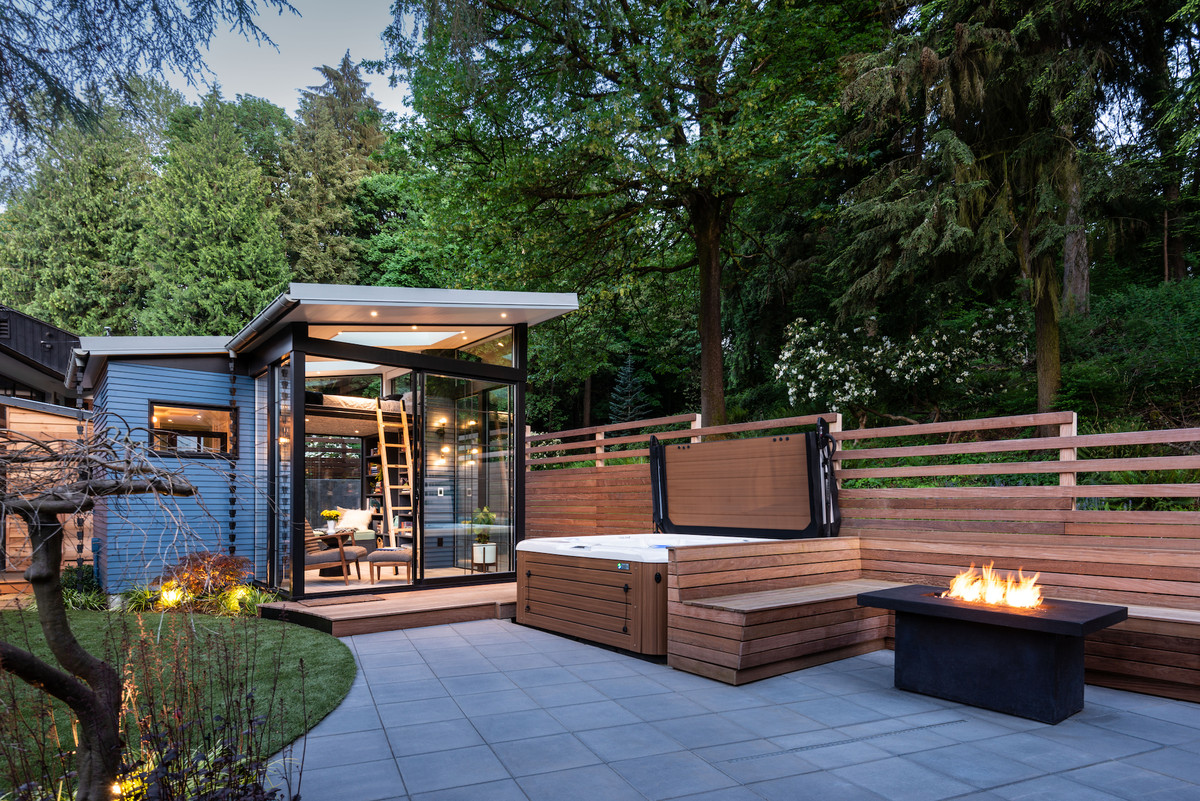 Backyard shed design is a dream for readers - Curbed on Modern Back Patio id=36082
