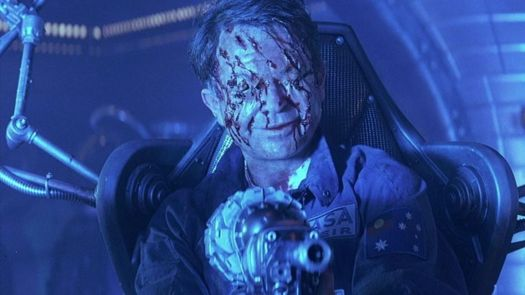 Sam Neill as Dr. William G. 'Billy' Weir, mutilated and driven mad aboard the Event Horizon.
