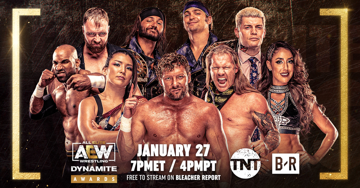 Voting is now open in the first AEW Dynamite Awards