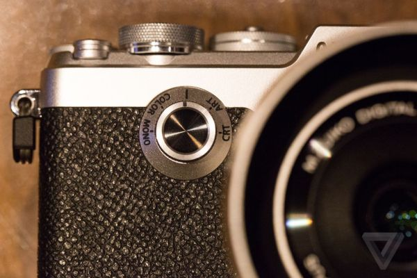 The Olympus PenF is a classic film camera with digital