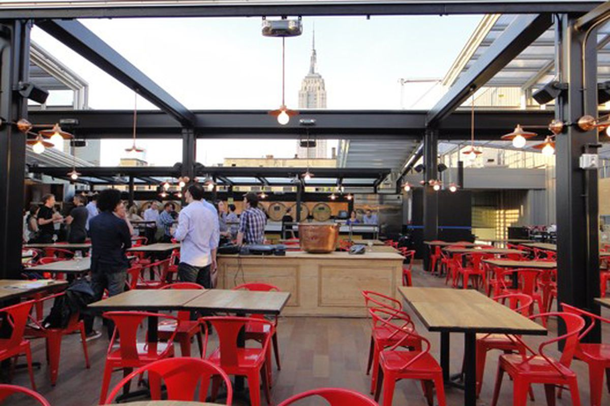 The Early Word On Eataly's Rooftop Beer Haven Birreria