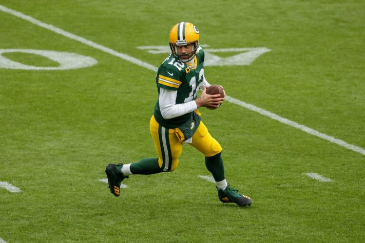 Aaron Rodgers fantasy football start/sit advice: What to do with the Packers QB in Week 9 on TNF - DraftKings Nation