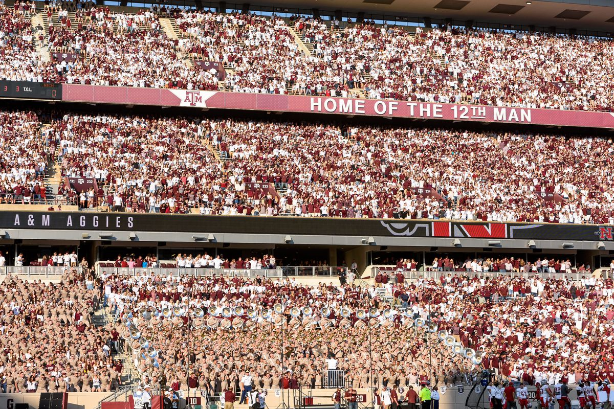 King gill the tradition of the twelfth man was born on the second of january 1922, when an underdog aggie team was playing centre college,. Texas A M 2020 Football Schedule Released Good Bull Hunting