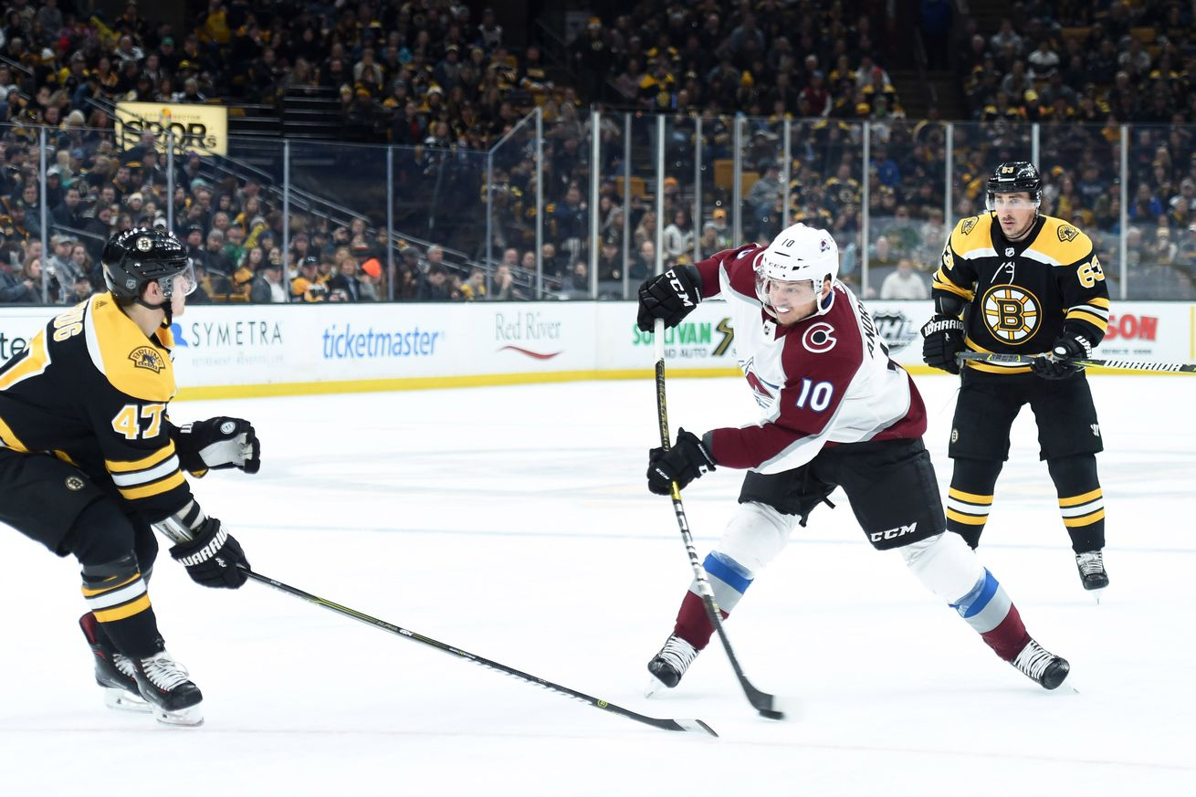 NHL: Colorado Avalanche at Boston Bruins
