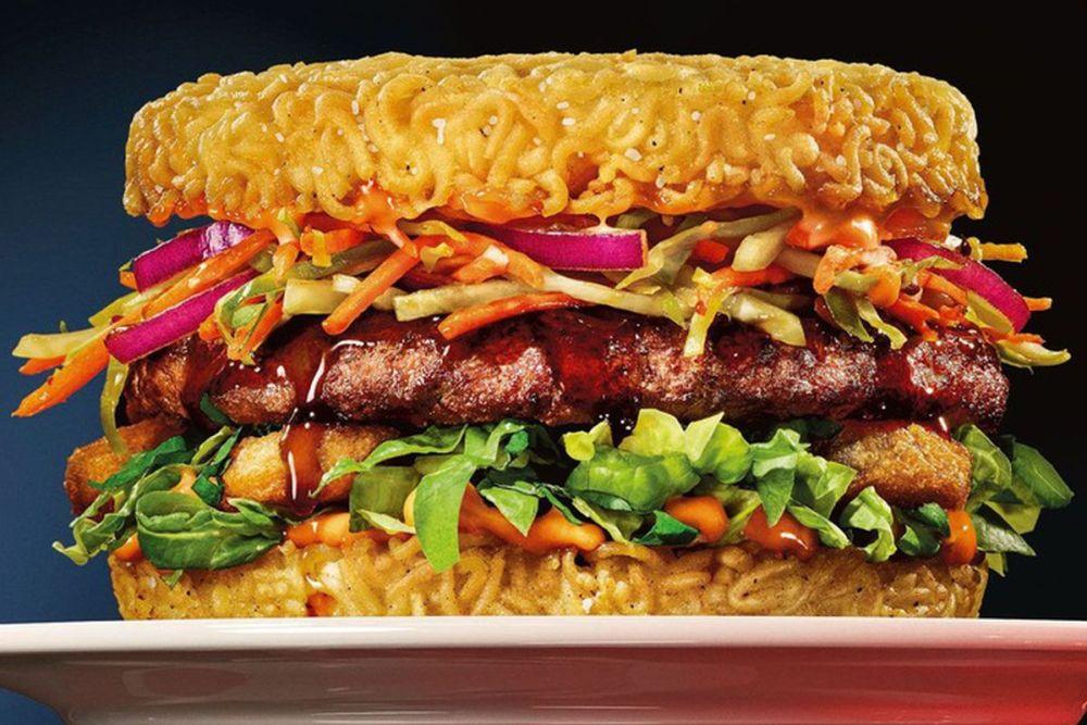 burger-noodle-bun