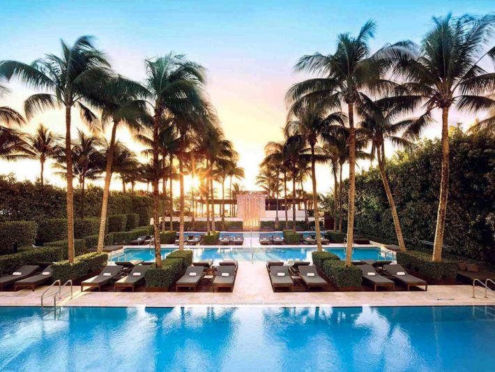 miami's 5 five-star hotels of 2017, mapped - curbed miami