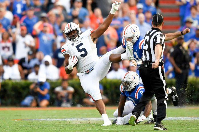 NCAA Football: Auburn at Florida