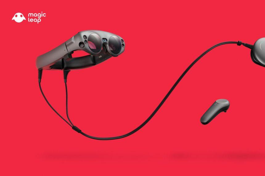 Magic Leap 1 Updated Headset