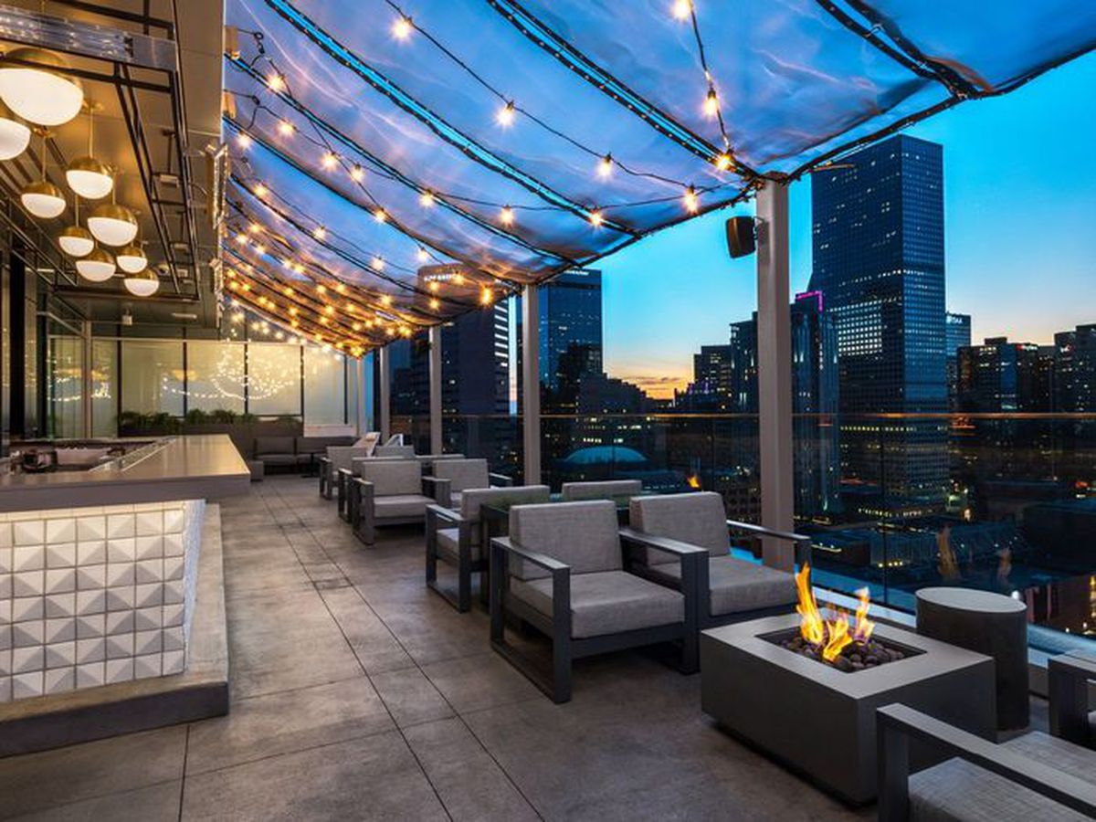The Best Rooftop Bars and Outdoor Dining Spots Across 19 ... on Backyard Bar With Roof id=74408