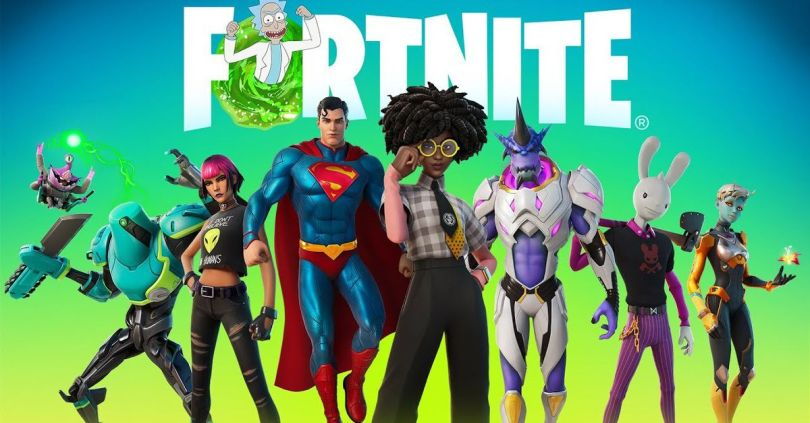 Fortnite season 7 has Superman, flying saucers, and a virtual influencer