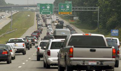 Fourth Of July Weekend Creates Crushing Holiday Traffic